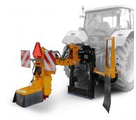 Fresa para suspender detrás del tractor, control manual. FZ 560 T - M