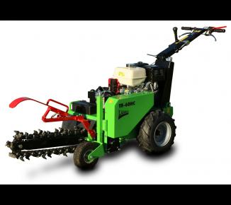 Zanjadora con traslación hidráulica y motor Honda TR 60/13 HC