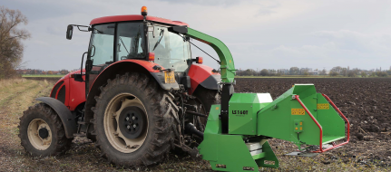 Astilladora potente a enganchar detrás del tractor (540 rev/min) LS 160 T (540 rev/min)