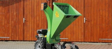 Astilladora de jardín con rodadura  LS 95 ES