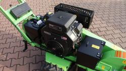 Fresadora manual para troncos, con rodadura eléctrica F 460E/27