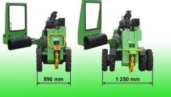 Fresadora para troncos con mando hidráulico F 500H/27