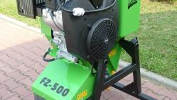 Fresadora para troncos con motor de combustión para suspender en máquina de construcción FZ 500/38