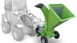 Astilladora de jardín con el motor Honda LS 95/GX