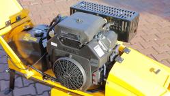 Fresadora manual para troncos, con rodadura eléctrica F 460EI
