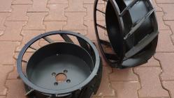Zanjadora con traslación hidráulica y motor Kohler     TR 60/14 HC